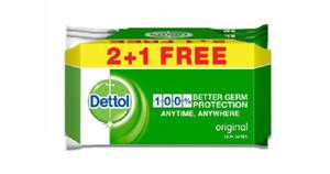 Dettol Original Antibacterial Skin Wipes 3x10s