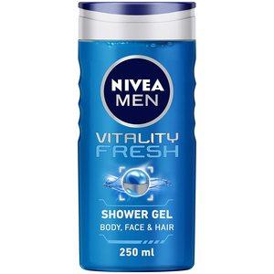 Nivea Shower Gel Vitality For Men 2x250ml