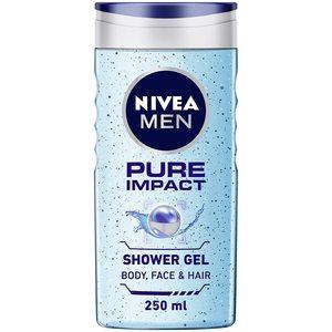 Nivea Shower Gel Pure For Men 2x250ml