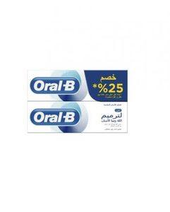 Oral B Gum & Enamel Original Toothpaste 2x75ml