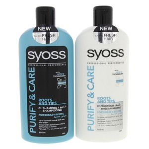 Syoss Shampoo Assorted With Conditioner 500ml