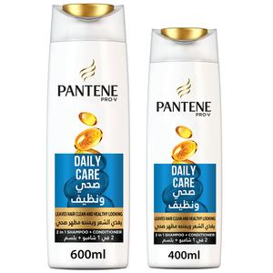 Pantene Pro-V Daily Care 2 In 1 Shampoo  600ml + 400ml