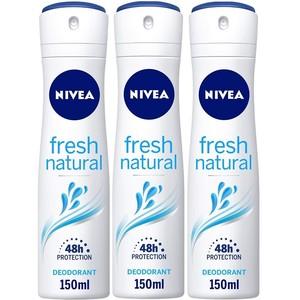 Nivea Deo Spray Fresh Female Assorted 3x150ml