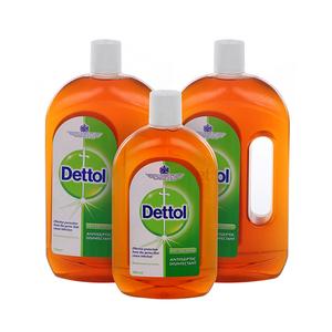 Dettol Disinfectant Antiseptic Liquid 2x750ml+500ml