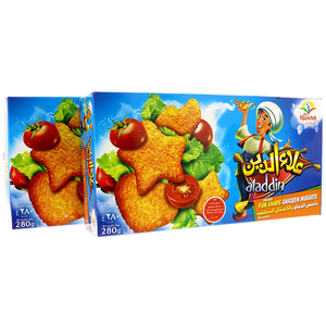Aladdin Fun Shaped Chicken Nuggets 2x280g
