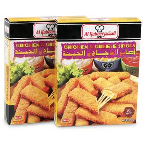 Al Kabeer Chicken Cheese Sticks 2x250g