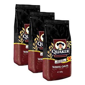 Quaker Oats Bag 3x500g