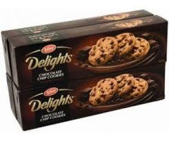 Tiffany Delight Chocolate Chip Cookies 4x100g