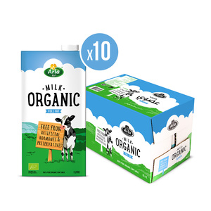 Arla Organic Full Fat Milk 10x1L