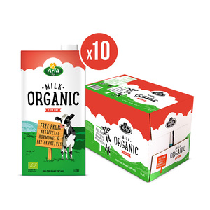 Arla Organic Low Fat Milk 10x1L
