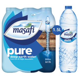 Masafi Drinking Water 6x1.5L