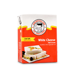 The Three Cows Low Salt White Cheese Red Block Value Pack 3x200g
