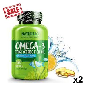 Sunshine Nutrition Cool Gulcose Omega 2pc