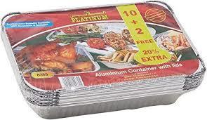 Platinum Container 420cc 12s