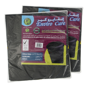 Enviro Care Black Garbage Bags Bio 2pc