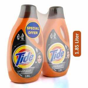 Tide Ls Abaya Regular Liquid Detergent 2x1.85L