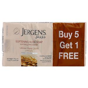 Jergens Musk Soap 6x125g