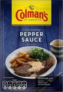 Colmans Sauce Mix Pepper 40g
