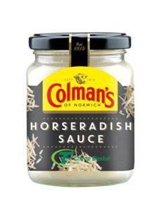 Colmans Sauce Horse Radish 136g