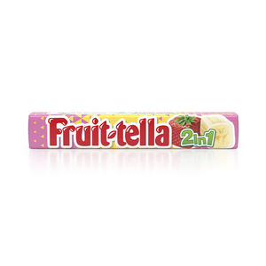Fruittella 2 In 1 Strawberry Banana 32g
