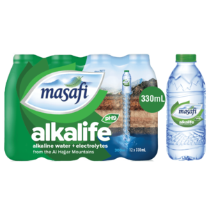 Masafi Alkalife Drinking Water 12x300ml