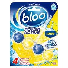 Bloo Toilet Rim Block Power Active Lemon 50g
