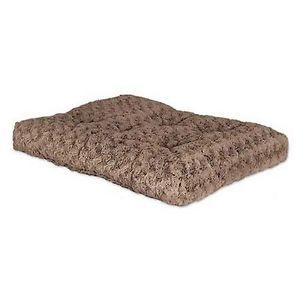 Midwest Homes Ombre Mocha Swirl Fur Pet Bed 24 inch