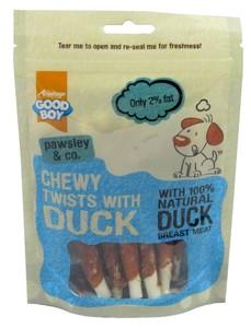 Armitage Chewy Duck Twists 90g