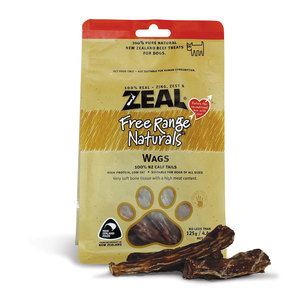 Zeal Dried Wags 125g