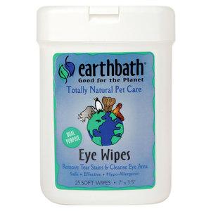 Earth Bath Eye Wipes Hypoallergenic 25pc