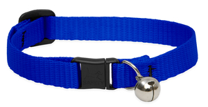 Lupine Cat Collar Blue With Bell 1pc