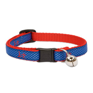 Lupine Cat Collar Newport Blue With Bell 1pc