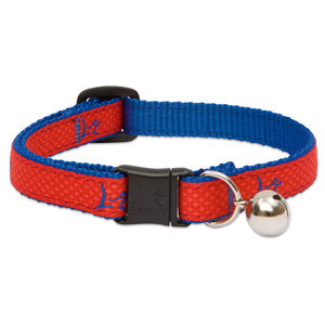 Lupine Cat Collar Derby Red With Bell 1pc