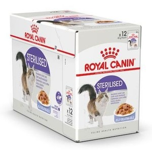 Royal Canin Sterilised In Jelly 12x85g