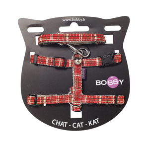 Kilt Cat Harness & Lead Red Extra Small 1pc