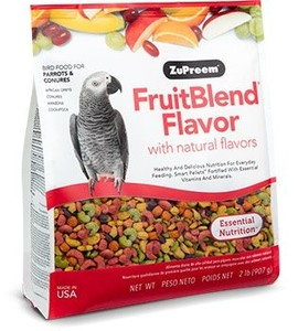 Zupreem Fruit Blend Intro Pack 2lb