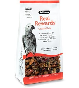 Zupreem Real Reward Large Parrot Treats Mix 170g