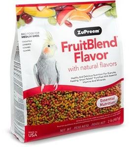 Zupreem Fruit Blend For Med Size 1pc
