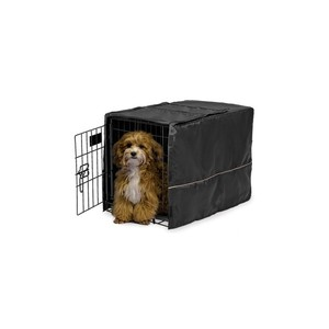 Midwest Homes Black Polyester Crate Cover 22 inch