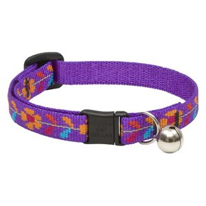 Lupine Cat Collar Spring Fling With Bell 1pc