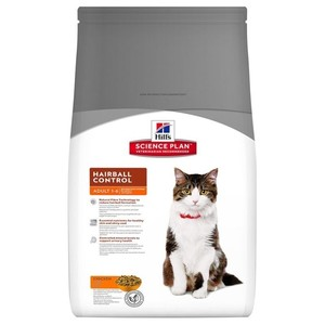 Hills Science Plan Feline Adult Hairball Control With Chicken 1.5kg