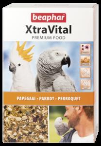 Beaphar Extra Vital Parrot Feed 1kg