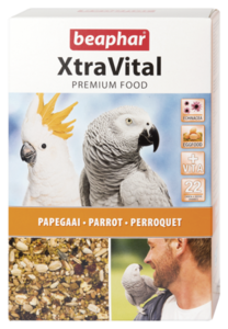 Beaphar Xtravital Parakeet Feed 1kg