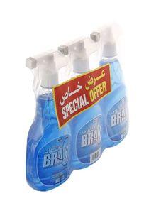 Brax Glass Cleaner 3x650ml