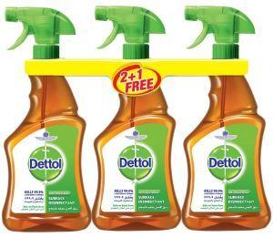 Dettol Disinfectant Antiseptic Trigger 3x500ml