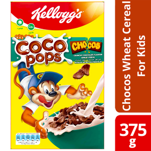 Kelloggs's Coco Pops Chocos Wheat Cereal For Kids 2x375g