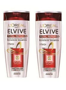 L'Oreal Elvive Total Repair 5 Shampoo 2x400ml