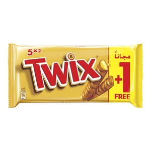 Twix Chocolate Bars Multipack 10x50g