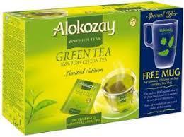 Alokozay Green Tea 100s