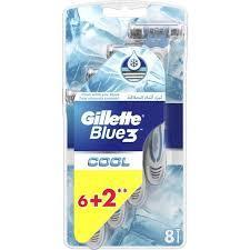 Gillette Blue 3 Cool Disposable 8pc